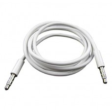 Cable 3.5 M a 3.5 M  Blanco