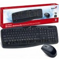 Teclado Combo Genius KB-8000X Wireless SP