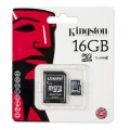 Micro SD KINGSTON 16GB Clase 4