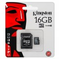 Micro SD KINGSTON 16GB  Clase 10
