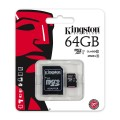Micro SD KINGSTON 64GB  Clase 10