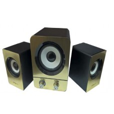 Parlante Sub-Woofer H1 Golden