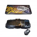 Havit Teclado Combo Gaming HV-KB550CM USB Retro-iluminado